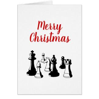 Juljulafton - delar vintagekonst #2 för schack hälsningskort