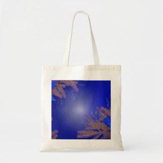 Juljulstjärnablått Tote Bag