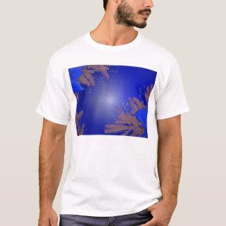 Juljulstjärnablått Tshirts