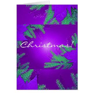 Juljulstjärnalilor och grönt på engelskt