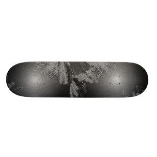 Juljulstjärnasvart och grå färg skateboard bräda 20 cm