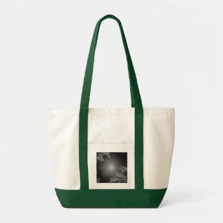 Juljulstjärnasvart och grå färg V Tote Bag