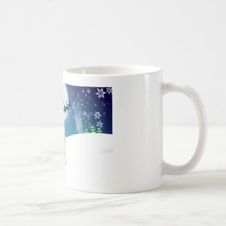 Juljultomtensnögubbe Kaffemugg