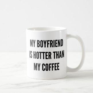 Julkaffe min pojkvän är varmmare än vit mugg