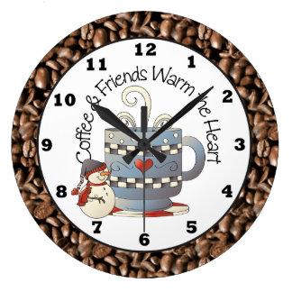 Julkaffe och vänhelgdag tar tid på stor klocka
