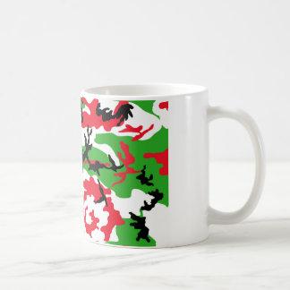 Julkamouflage Kaffemugg
