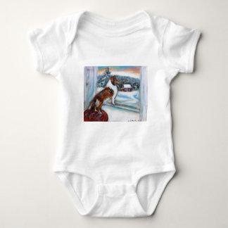 Julkort för helgdag för Shetland Sheepdog T-shirt