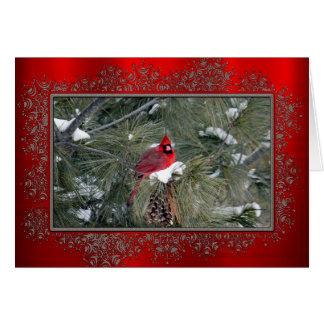 Julkort för kardinal 3093 hälsningskort