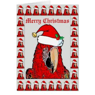 Julkort för Santa Mac Claus Hälsningskort