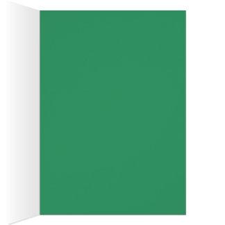 Julkort med färg OBS kort