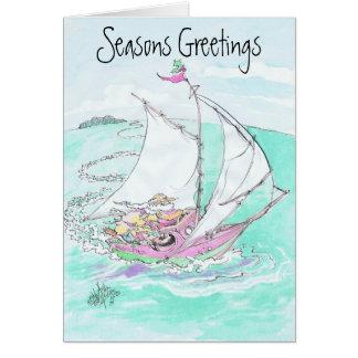 Julkortdesigner Hälsningskort