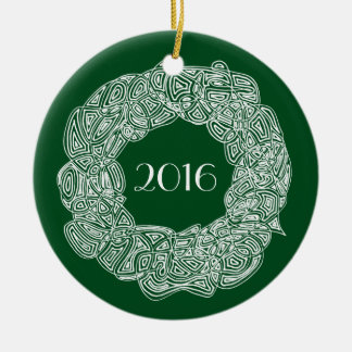 Julkran 2016 julgransprydnad keramik