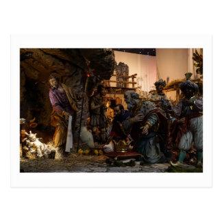 Julkrubba på Vaticanen Vykort