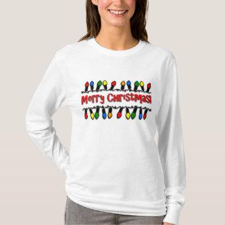 Julljuskvinna Lång-Muff T-tröja T Shirt