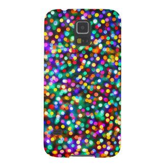 Julljusmönster Galaxy S5 Fodral