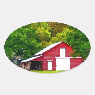 julmammaladugård pic.jpg ovalformat klistermärke