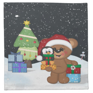 Julnalle Tygservett