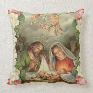 Julrobaby Jesus St Joseph, Mary, ängel Kudde
