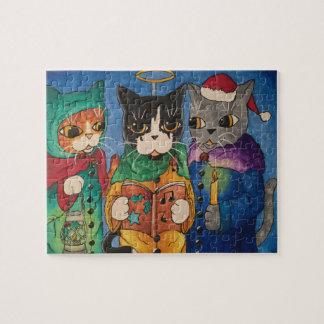 Julsångsångare Pussel