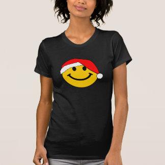 JulSanta smiley face T-shirt