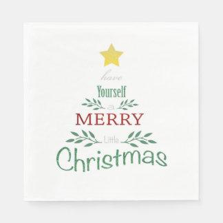 Julservetter Pappersservett