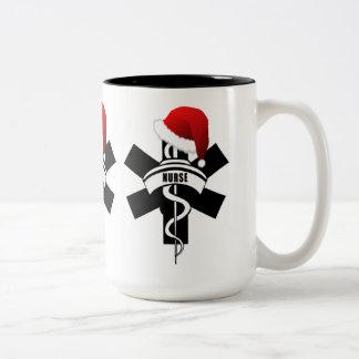 Julsjuksköterskahelgdagar Två-Tonad Mugg