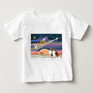 Julstjärna - Shetland Sheepdogs (sobel 2) Tshirts