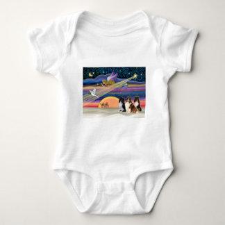 Julstjärna - Shetland Sheepdogs (tre) Tee Shirts