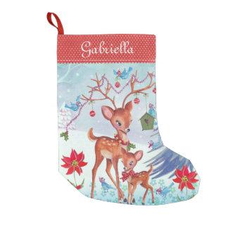 Julstrumpa för hjortjulfåglar |