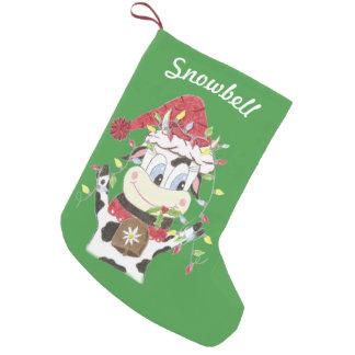 Julstrumpa för personlighusdjurgrönt