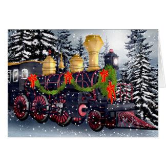 Jultåg Hälsningskort