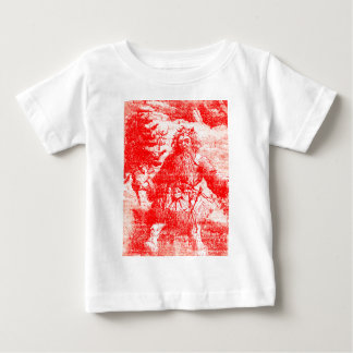 JulToile för vintage kolonial jultomten Tee Shirt
