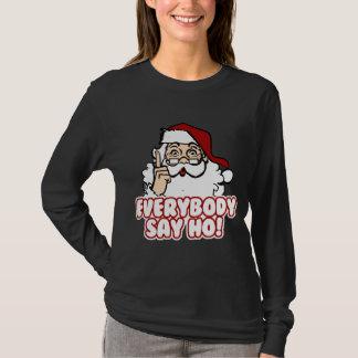 Jultomten - alla något att säga Ho T-shirts