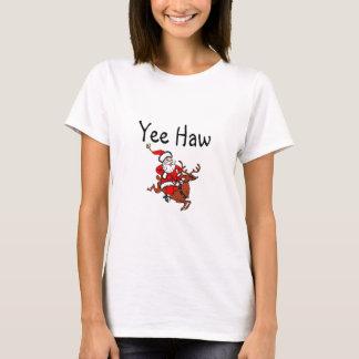 Jultomten för Cowboy för Yee Hawjul T Shirt
