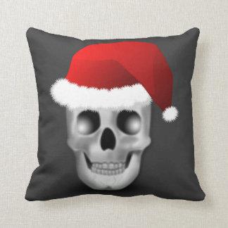 Jultomten för julGoth skalle Kudde