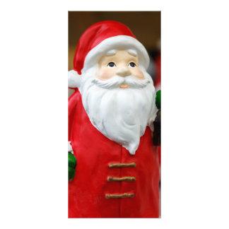 Jultomten med en lyktajuldekoration rackkort mallar