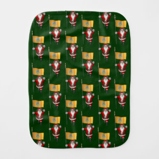 Jultomten med ensignen av Bali