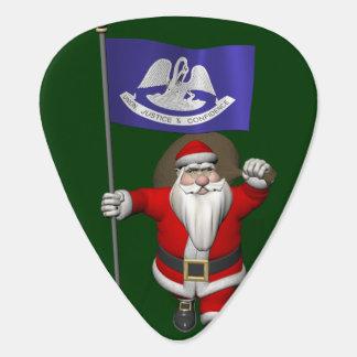 Jultomten med ensignen av Louisiana Plektrum