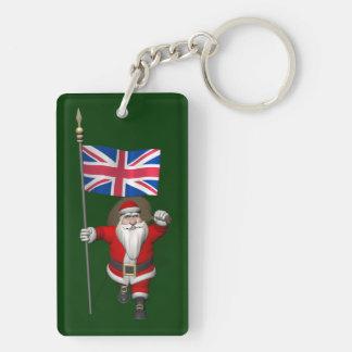 Jultomten med ensignen av UKEN