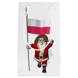 Jultomten med flagga av Polen