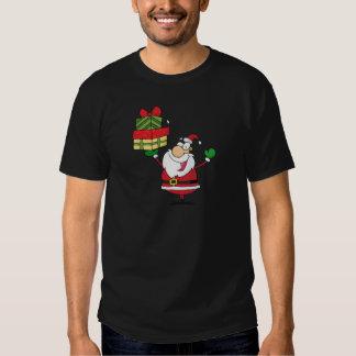 Jultomten med julklapp tee