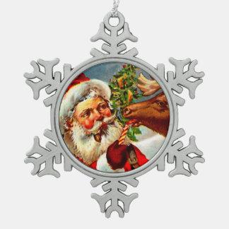 Jultomten med renen