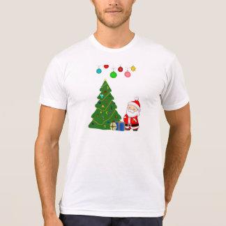 Jultomten- och jultid t-shirt