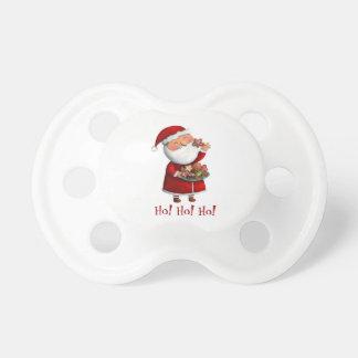 Jultomten och kakor napp