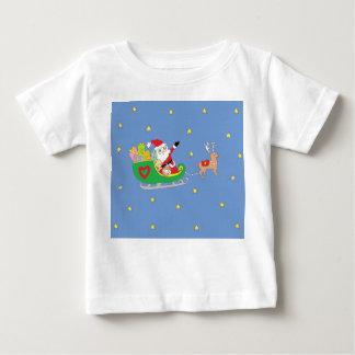 Jultomten på julnatt tee shirt