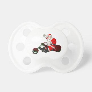 Jultomten på motoriska Trike Napp