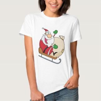 Jultomten på Sleigh Tröjor