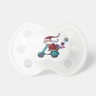 Jultomten Scooterist Barn Nappar