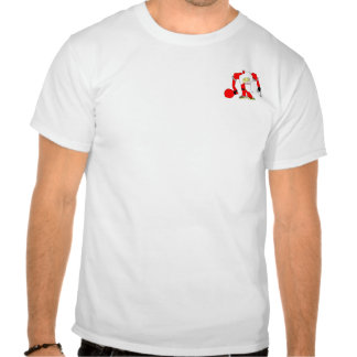 Jultomten som föreställt av Mike Palermo T Shirts