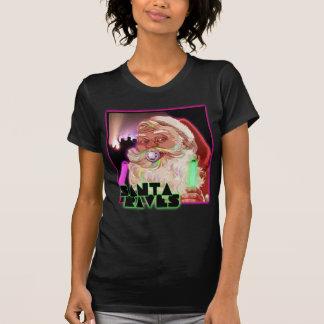 Jultomten yrar skjortan t shirts